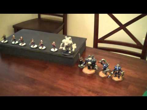 26 Pt Warmachine Batrep with TonyPonyF - Cygnar vs Menoth- Part1