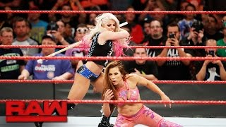 Alexa Bliss wields a kendo stick against Mickie James : Raw, May 22, 2017