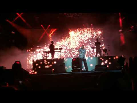 Odesza - Across the Room (ft. Leon Bridges) @ Bumbershoot | A Moment Apart Tour FIRST SHOW
