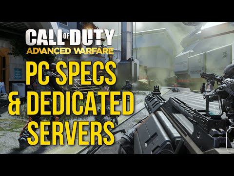 Advanced Warfare: PC Specs, FoV Slider, Sound Options, & Dedicated Servers