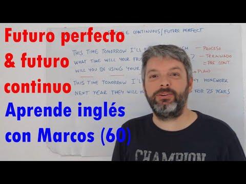Future perfect & continuous. Aprende inglés con Marcos (60)
