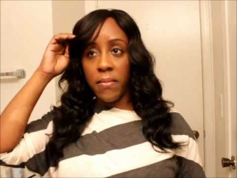 Brazilian Wavy Remy Hair Sew In Tutorial
