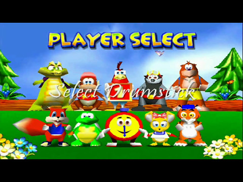 Diddy Kong Racing Characters Diddy Kong Racing st