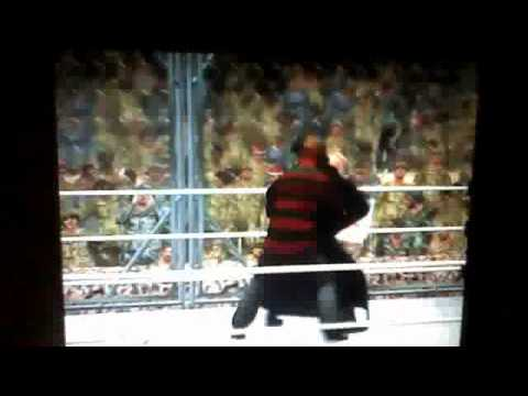 WWE 12 = Freddy Krueger vs. Jason Voorhees