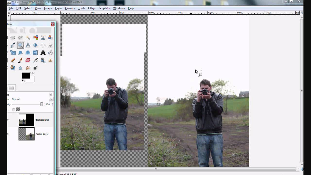 how to make a photo have more pixels