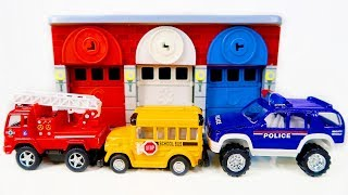 Learn Colors Melissa and Doug Rescue Garage Toy Surprises Vehicles for Kids Bunny Bear Toys