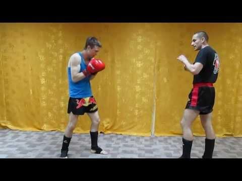 Тайский бокс Лучшие удары - Удар Торнадо