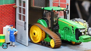 RC TRACTORS FARM TOYS IN ACTION 🚜 SIKU CONTROL 32