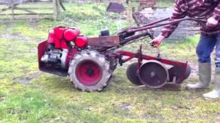 Howard Clifford rotavator with plough