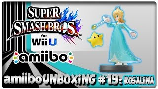 Amiibo Unboxing #19: Rosalina + Super Smash Bros. U & Hyrule Warriors Features