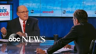 'I wouldn't cooperate with Adam Schiff': Giuliani | ABC News