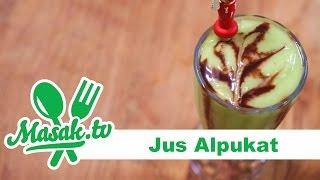 Jus Alpukat (indonesian style avocado juice) | Minuman #044