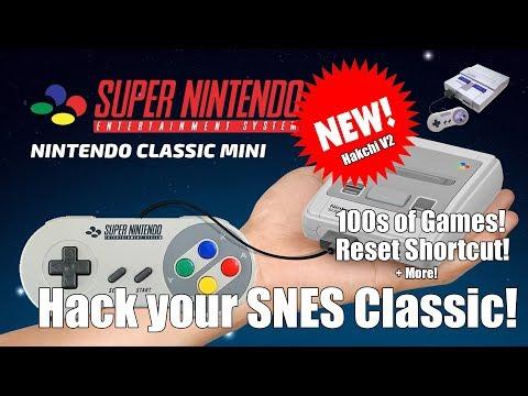 Hack your SNES Classic Mini