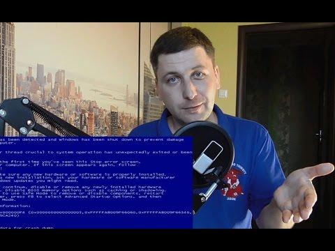 Синий экран смерти на ноутбуке и компьютере. Как у меня получилось исправить