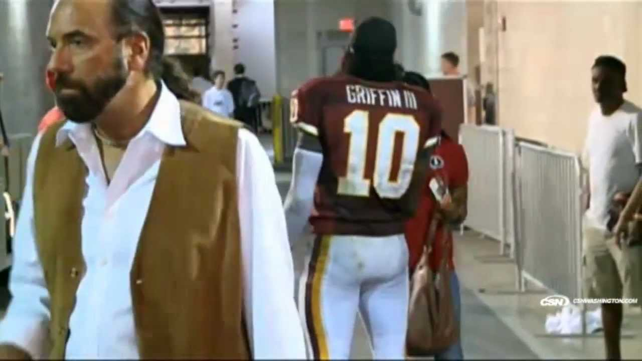 Redskins Rg3 Griffining RG3 Griffining With A Fan