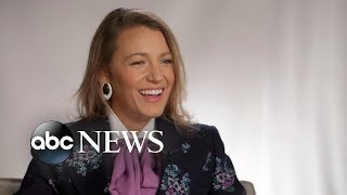 Blake Lively opens up about parenting and kissing Anna Kendrick in 'A Simple Favor'
