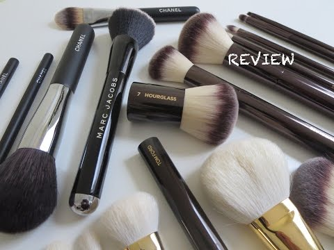 Luxury Brush Reviews: Tom Ford, Chanel, & Hourglass!
