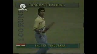 Sachin Tendulkar's First ODI Hundred -110 vs Australia Colombo 1994 Highlights