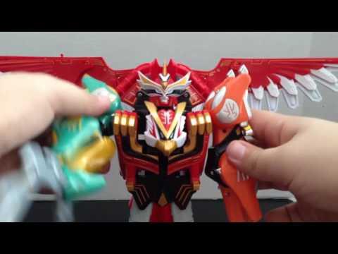 Review: Power Rangers Wild Force Isis Megazord (Hyakujuu Sentai Gaoranger Gao Icarus)