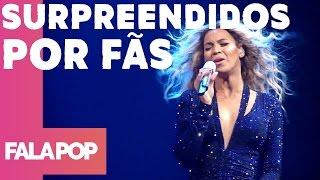 Top 5 Cantores Surpreendidos Por Fãs Cantando