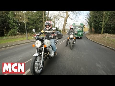Honda CB1100 Old Vs New | Road Test | Motorcyclenews.com