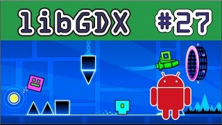 LIBGDX para Android - Tutorial 27 - Saltos - How to make games Android