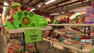 Children's consignment pop-up shop open at Grant County Fairground