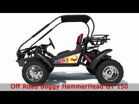 Off Road Buggy HammerHead 3D Model