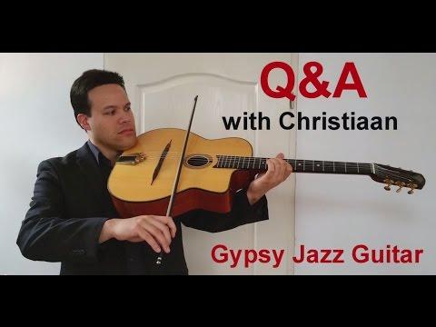 Q&A With Christiaan - Episode 1 - Basic Gypsy Jazz Rhythm
