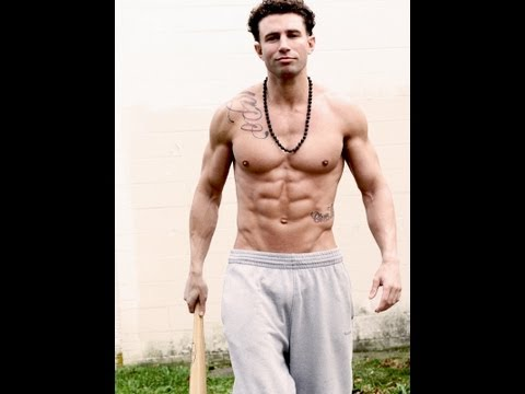 "Jersey Shore's Johnny ""The Unit"" Working Out"