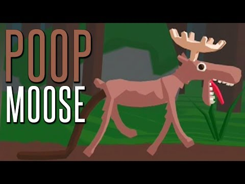POOP MOOSE - (Three Free Games)