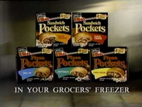 1995 Mccain Ellio S Pizza Pockets Commercial Youtube