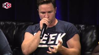 Nerd HQ 2015: Scott Porter Beatboxing (Mystery Panel Highlight)