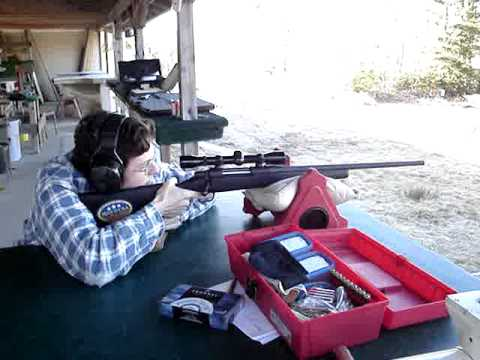 mossberg 100atr in 270 winchester at nmgc   finally lol