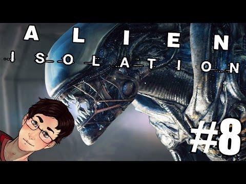Alien: Isolation - Charlie is a Massive Troll - Episode 8! (Gameplay/Walkthrough)