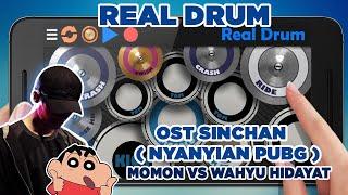 Ost. Shinchan (Nyanyian PUBG) Kolaborasi Minang Kocak & Wahyu Hidayatt | Real Drum Cover