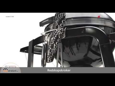 Grill z okrągłą pokrywą  Black Pearl 31346 Landmann
