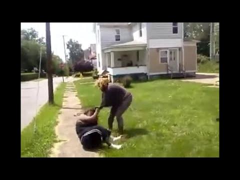 Black American Women fight (for Big Mac!?) | Street Fighting