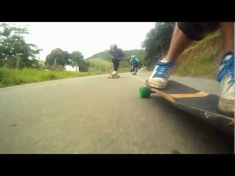 Longboard ES Viana Downhill skate Forfun Brasil - Skate speed Go Longboard Espirito Santo gopro