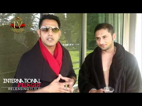 International Villager Shout Out - Gippy Grewal & Yo Yo Honey Singh video