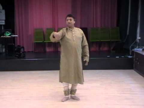 Kathak Lesson In Taal Jhaptaal By Guru Ashwani Nigam - Part 1 video