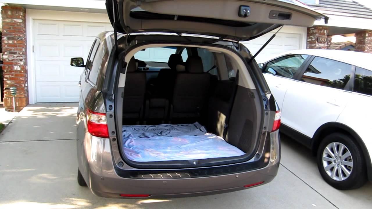 2011 Honda Odyssey Power Liftgate Youtube