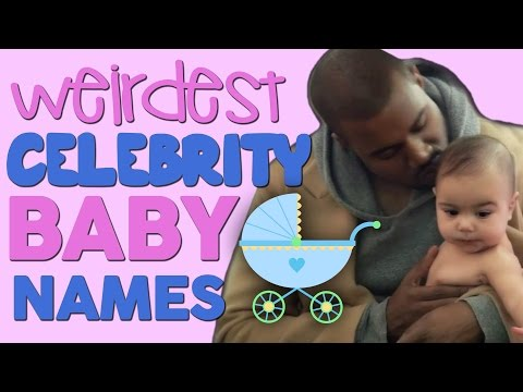 7 Most Ridiculous Celeb Baby Names of All Time