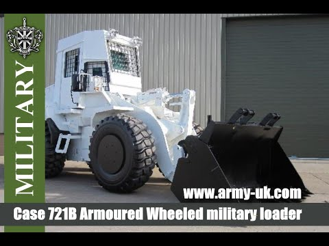 Case 721B Armoured Wheeled loader for SALE - YouTube