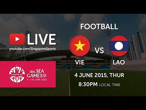 Football: Vietnam vs Laos | 28th SEA Games Singapore 2015