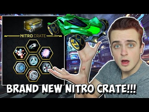 BRAND NEW NITRO CRATE AND MANTIS BATTLE-CAR IN ROCKET LEAGUE! | Next Big 2017 UPDATE!