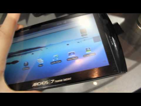 Upgraded Archos 7 Home Tablet Hands On