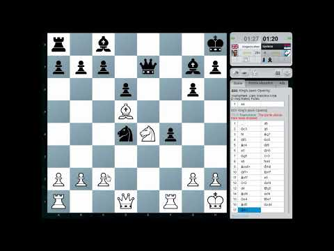 Blitz Chess: Chesscube Daily Warzone Final - 12th September 2012 (Chessworld.net)