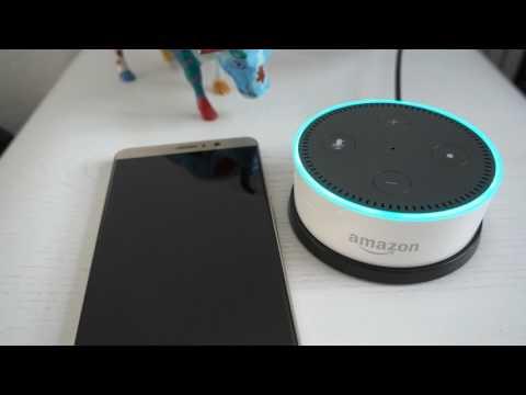 Amazon Alexa Echo Dot Kindle Bücher vorlesen lassen