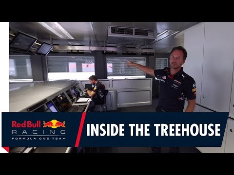 A tour of our race day control room with Christian Horner